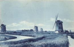 Windmolens Windmill Moulin Molen  Schermerhorn   Barry 1112 - Moulins à Vent