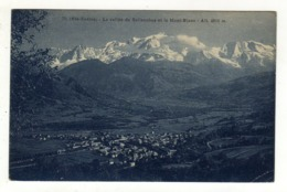 Cpa N° 70 La Vallée De SALLANCHES Et Le Mont Blanc - Sallanches
