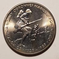 500zł 50 Rocznica Wojny Obronnej Narodu Polskiego 1939-1989 - Polen