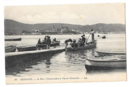 (25325-64) Hendaye - Le Port, L'Embarcadère Et Vue De Fontarabie - Hendaye