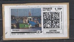 Mon Timbre En Ligne   Bretagne - 2010-... Illustrated Franking Labels