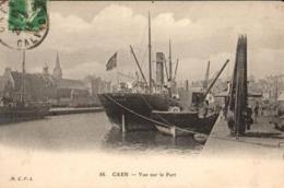 14 - CAEN - VUE SUR LE PORT - Caen