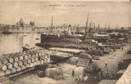 13 - MARSEILLE - LA JOLIETTE - LES QUAIS - Joliette, Zone Portuaire