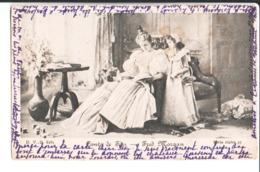 Conte De Fées. Fred Morgan. à Melle Isabelle Bosschaert De Bouwel Château  Zeer Boiereren Deurne Lez Anvers. Sept. 1902. - Otros