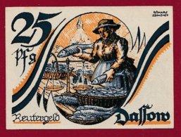 Allemagne 1 Notgeld 25 Pfenning Stadt Dassow (Série Complète)   Dans L 'état Lot N °5128 - [ 3] 1918-1933 : Repubblica  Di Weimar