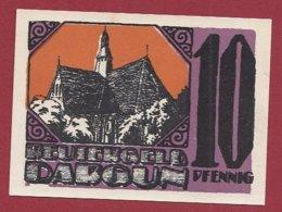 Allemagne 1 Notgeld 10 Pfenning Stadt Dargun (Série Complète)   Dans L 'état Lot N °5130 - [ 3] 1918-1933 : Repubblica  Di Weimar