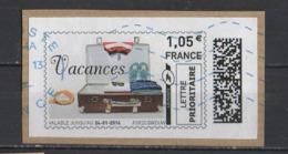 2014 Mon Timbre En Ligne   LP  20g  Neopost - 2010-... Illustrated Franking Labels