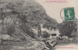 CPA Luzenac - Exploitation Du Talc - France
