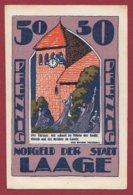 Allemagne 1 Notgeld 50 Pfenning Stadt Laage   Dans L 'état Lot N °5136 - Collections