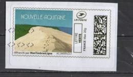 Mon Timbre En Ligne   LV  20g  Nouvelle Aquitaine - 2010-... Illustrated Franking Labels