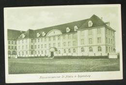Regensburg  Kapuzinerseminar St. Fidelis Postcard - Regensburg