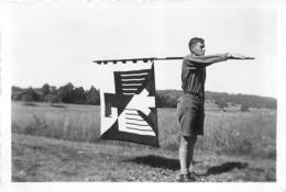 PHOTO ORIGINALE HITLERJUGEND JEUNESSES  HITLERIENNES FORMAT  9 X 6 CM - Guerra, Militares