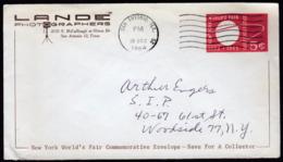 USA United States San Antonio 1964 / Lande Photographers / New York World's Fair Postal Stationery - Esposizioni Universali