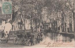 CPA Pamiers - Bords Du Canal (jolie Animation Avec Lavandières) - Pamiers