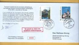 Enveloppe Hettange-Grande - 2 Timbresamoi - Journée De L'Europe 2014 - France