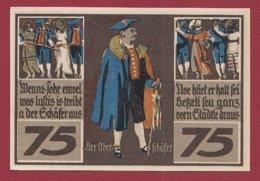 Allemagne 1 Notgeld 75 Pfenning Stadt Rothenburg (B)  Dans L 'état Lot N °5151 - Collections