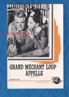 Planche Ancienne , Manuel D' Exploitation, Film GRAND MECHANT LOUPS APPELLE - Cary Grand / Leslie Caron / Trevor Howar - Faire-part