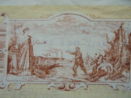 FRANCE - PARIS, 1897 - L'ESPERANCE - ASSURANCES - TITRE DE 5 ACTIONS DE 100 FRS - BELLE VIGNETTE - Azioni & Titoli