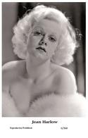 JEAN HARLOW - Film Star Pin Up PHOTO POSTCARD - 6-368 Swiftsure Postcard - Postales