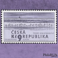 Czech Republic 2001 Mi.289 Europa.Water - Natural Treasure./1v (MNH **) - Tchéquie