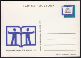 Poland 1972 / UNESCO International Year Of Book, Annee Internationale Du Livre / Postal Stationery - Enteros Postales