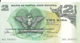 PAPOUASIE NEW GUINEA 2 KINA ND1981 UNC P 5 A - Papua Nueva Guinea