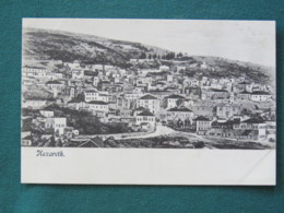 "French Levant Palestine (Israel) 1902 - 1920 Unused Postcard ""Nazareth"" - Palestine"