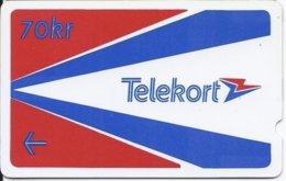 NORWAY - TELEKORT 70 KR - 2NORB - 10.000EX - Norvegia