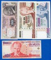 Turquie 9  Billets - Turkije