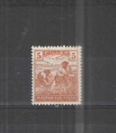 Ungheria PO  1920/24 Contadini Scott.335+See Scan On Album Ungheria - Ungheria