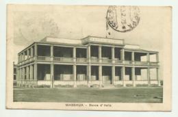 MASSAUA - BANCA D'ITALIA  1923  VIAGGIATA FP - Eritrea