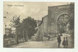 PERUGIA -PORTA EBURNEA  VIAGGIATA FP - Perugia