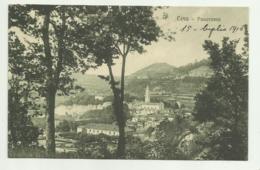 CEVA - PANORAMA 1916  VIAGGIATA FP - Cuneo