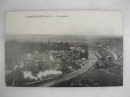 CHAMARANDE - Vue Générale (avec Train Qui Passe) - Trains