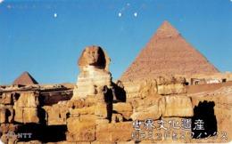JAPON. Egypt, Sphinx And Pyramids - Wcm. JP-331-452 D. (045) - Japón