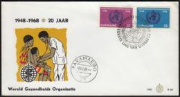 Suriname 1968 / 20th Anniversary Of The World Health Organization WHO / Medicine - Medizin