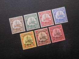 D.R.Mi 7**/8**/9*-11*/14*/15* - Deutsche Kolonien (Karolinen) 1900/1910  Mi 14,90 € - Kolonie: Carolinen