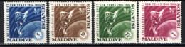 MALDIVE - 1965 - Quiet Sun Year, 1964-65 - MNH - Maldive (1965-...)