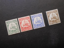 D.R.Mi 8**/9*/10*/21* - Deutsche Kolonien (Karolinen) 1900/1923  Mi 6,10 € - Colonia: Islas Carolinas