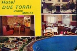 Diano Marina - Hotel Due Torri - Formato Grande Non Viaggiata – E 14 - Imperia