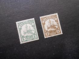 D.R.Mi 8*/21* - Deutsche Kolonien (Karolinen) 1900/1923  Mi 2,20 € - Colony: Caroline Islands