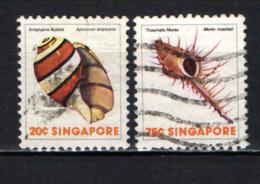 SINGAPORE - 1977 - Sea Shells - USATI - Singapore (1959-...)