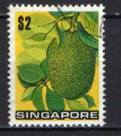 SINGAPORE - 1973 - Jackfruit - USATO - Singapore (1959-...)