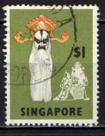 SINGAPORE - 1968 - Yao Chi, Chinese Opera Mask - USATO - Singapore (1959-...)