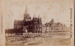 CDV Circa 1880 : Paray Le Monial  (71)  - Péléranage Du Sacré Coeur  Photo Ancienne - Photographs