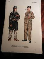 1) DIVISA MILITARE ITALIA TRUPPE CORAZZATE SOTTOTENENTE-GRAN BRETAGNA MAGGIORE-GIAPPONE SERGENTE-USA SERGENTE CAVALLERIA - Uniforms