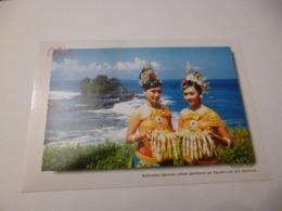 Bali Lot De 2 Cartes ( Danseuses Et Groupe D'enfants ) Cartes Neuves - Indonesia
