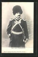 AK Peter I. Von Serbien In Uniform Mit Pellzmütze - Königshäuser