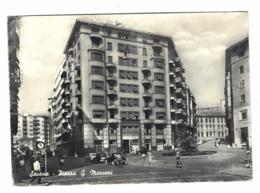 1200 - SAVONA PIAZZA G MARCONI ANIMATISSIMA 1961 - Savona