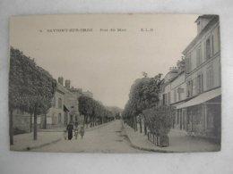 SAVIGNY SUR ORGE - Rue Du Mail (animée) - Savigny Sur Orge